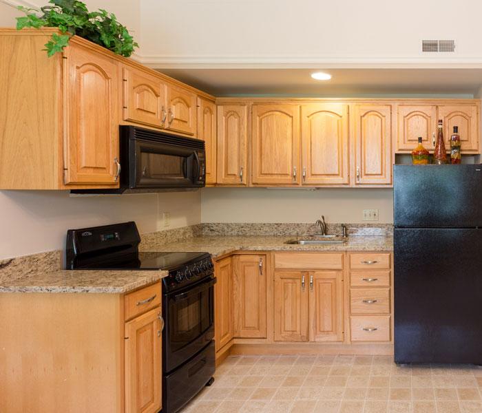 Apartment Kitchen at Four Seasons