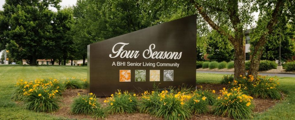 Four Seasons Sign