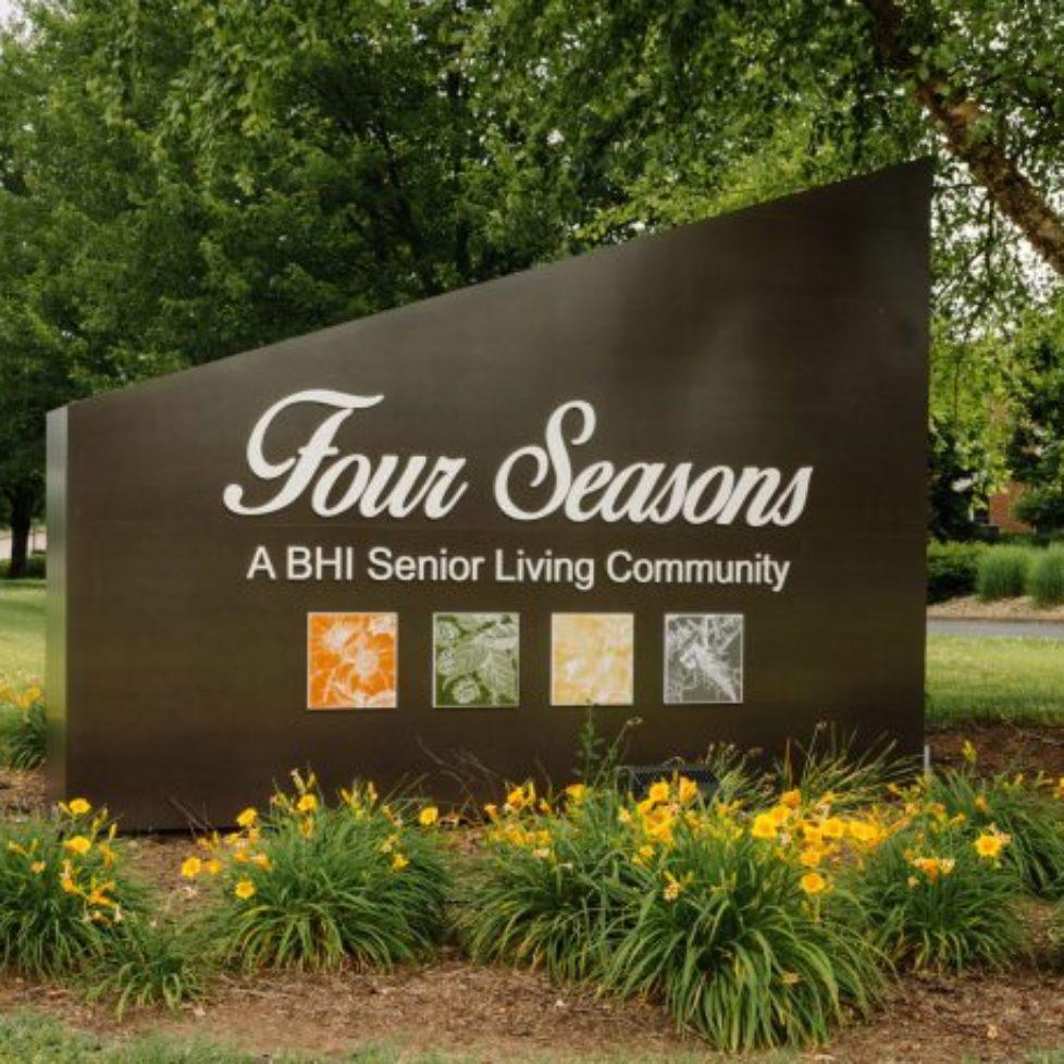 Four Seasons Sign