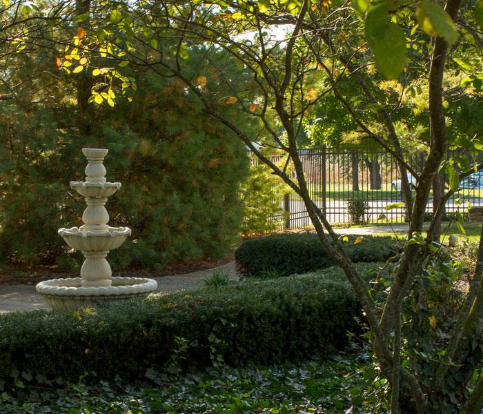 Four Seasons fountain